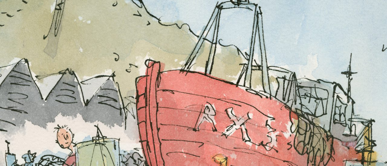 Quentin Blake in conversation