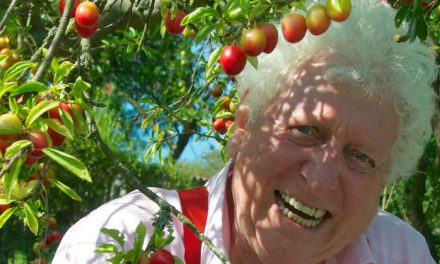Tom Baker discovers heaven in East Sussex