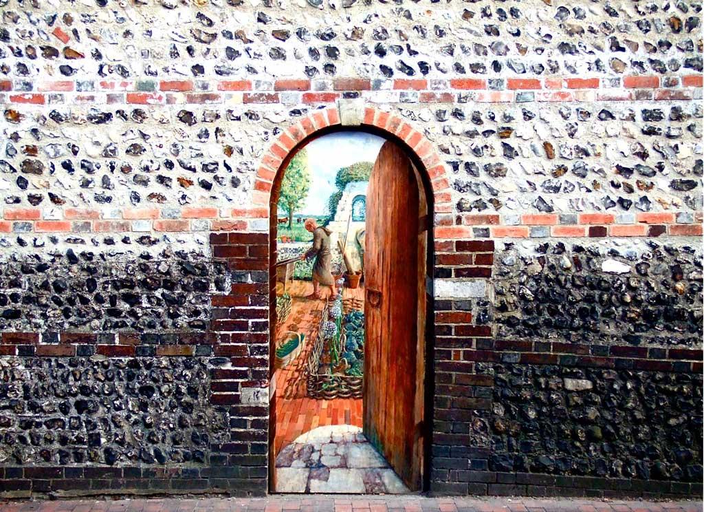 Door in the wall, Lewes