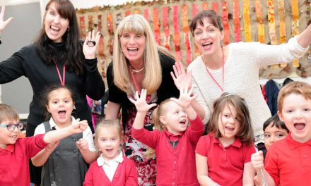 Newhaven school works with others to boost early years achievements