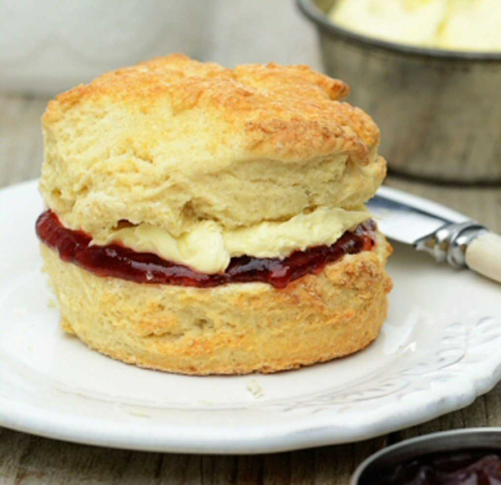 Scone recipe from Baked by the Sea
