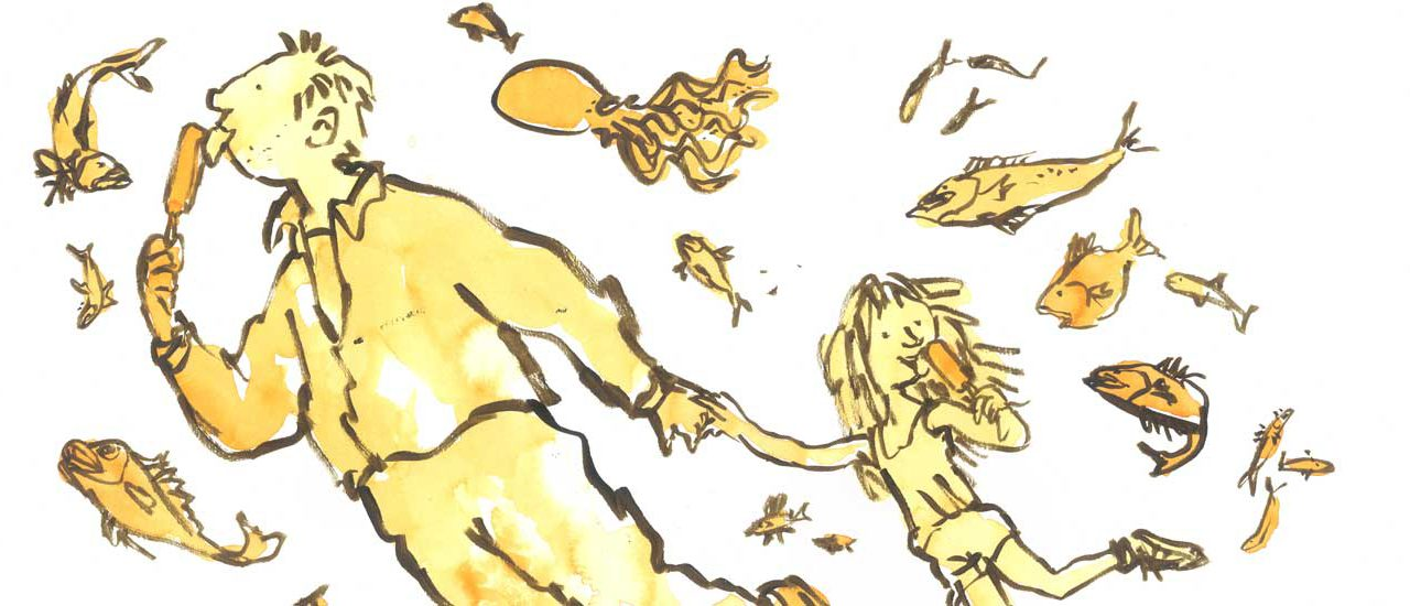 Quentin Blake exhibition celebrating Hastings comes to the Jerwood Gallery