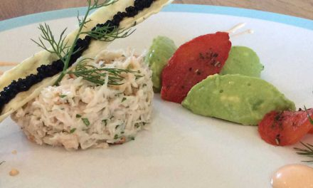 How to make Sussex crab tian