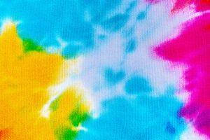 Tie dye colours
