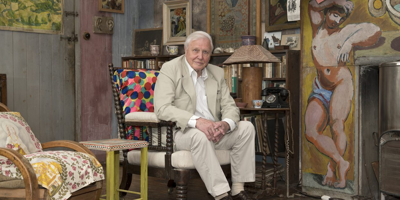 Sir David Attenborough visits Charleston