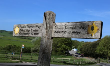 A walk in the Cuckmere Valley  – chalk horses, smugglers, and King Alfred the Great