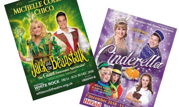 It's curtains up for panto time!