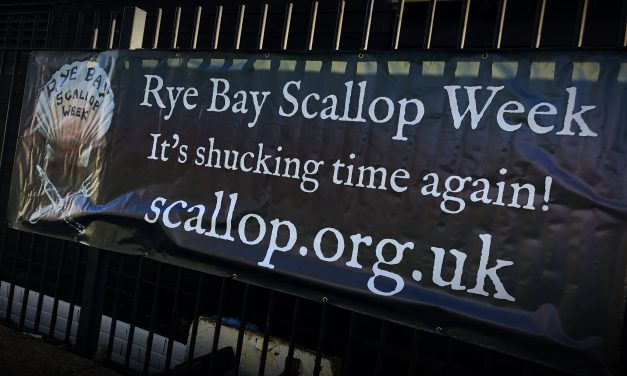 "Time to ""shellabrate"" the famous Rye scallop!"