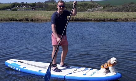 What's SUP? Paddleboarding at Cuckmere