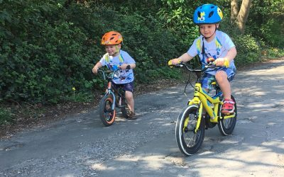 Best places to cycle with children