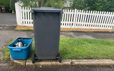 Ideas for repurposing your glass recycling box