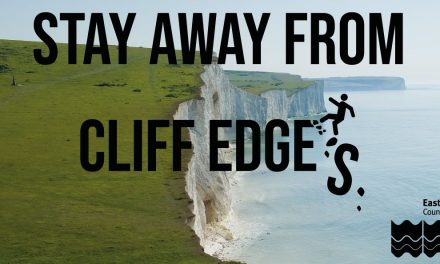 Don't risk it around cliffs – stay away from edges and bases