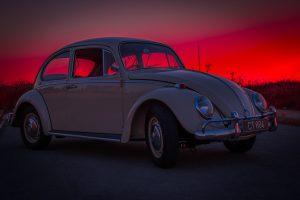 Beetle car.
