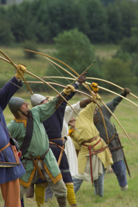 Archers at the Battle of Hastings