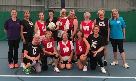 Back in the game – walking netball
