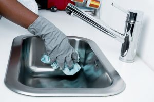 Clean your sink.
