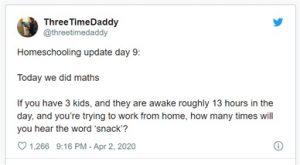 ThreeTimeDaddy tweet