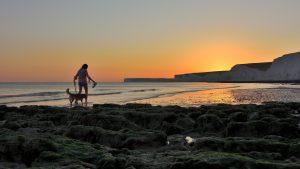 Birling gap beach.