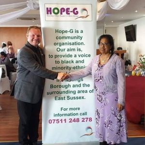 Julia Wells at an event for Hope-G.