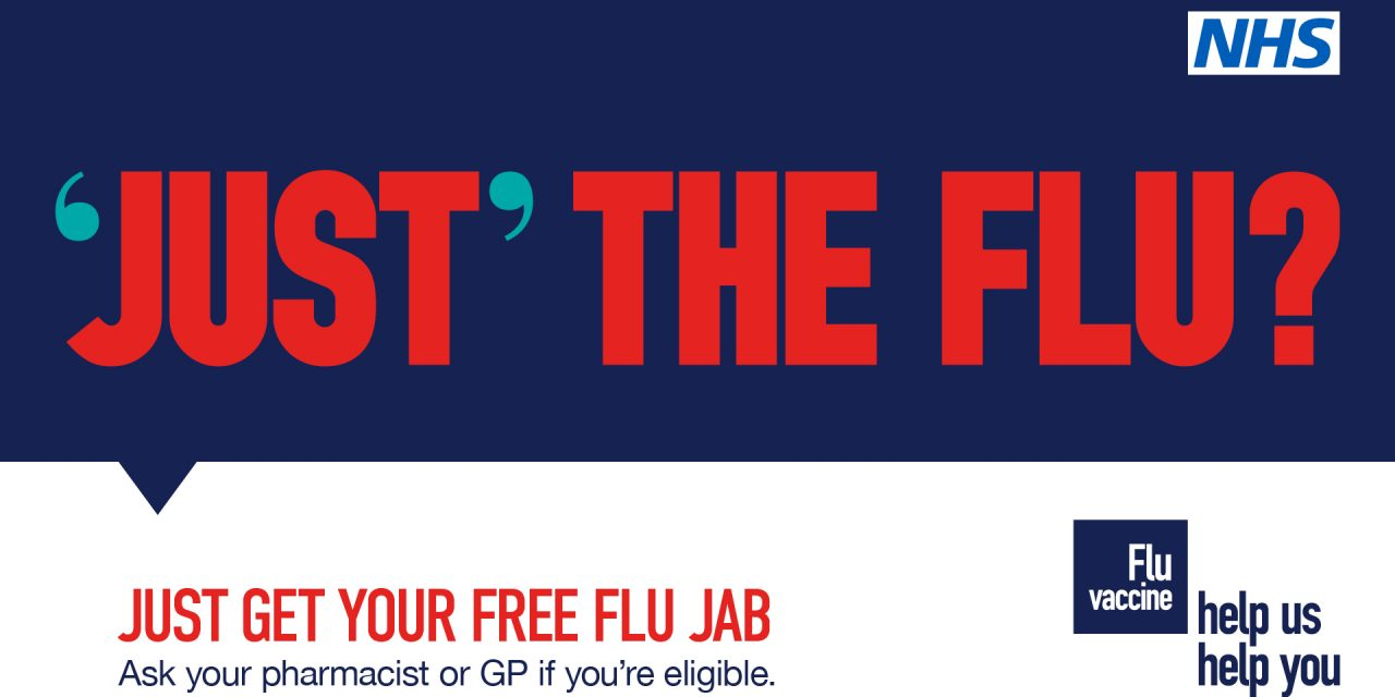Don't delay: get your free flu jab