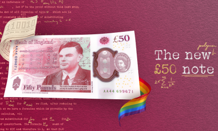 East Sussex genius Turing celebrated on new banknote