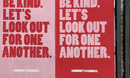 The 'new normal' starts with being kind