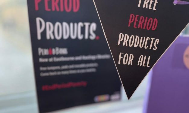 Please donate to help tackle period poverty